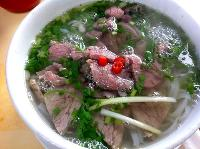 Beef Noodle Soup of Vietnamese