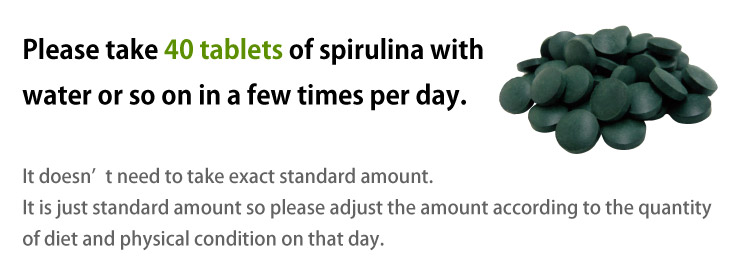 How to drink Spirulina